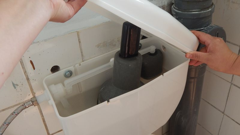 Реконструкція санітарних вузлів у дитячому садочку с.Загвіздя